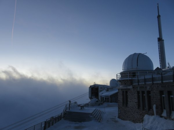 LES IMAGES DU JOUR : Quelques photos du Pic du Midi pour vous souhaiter une bonne soirée...