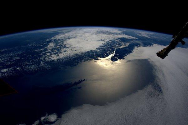 RETOUR EN IMAGE DE LA MISSION DE TIM PEAKE DEPUIS L'ISS : Île de Vancouver, au Canada, photo prise par l'astronaute de l'ESA Tim Peake depuis la Station Spatiale Internationale.