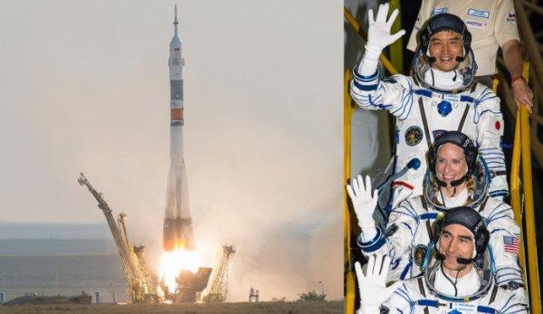 ESPACE INFO : Aujourd'hui, 7 juillet 2016 à 7h36 du matin, le vaisseau Soyouz MS-01 a décollé vers la Station Spatiale Internationale avec le Russe Anatoly Ivanishin, le Japonais Takuya Onishi et l'Américaine Kathleen Rubins. L'arrivée se déroulera le 9 juillet au matin. Ils iront retrouver là-haut dans l'ISS, le commandant Jeff Williams (NASA, USA) ainsi qu'Oleg Skripochka et Alexey Ovchinin (Roscosmos, Russie tous les deux) (Sources ROSCOMOS-NASA-CE)