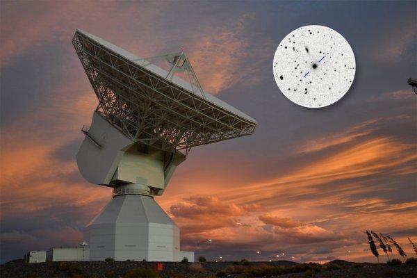 L'IMAGE DU JOUR : NAVIGATION VERS MARS Afin de suivre précisément la Sonde EXOMARS et son module d'atterrissage à la surface martienne, il est nécessaire de cerner l'emplacement de l'engin spatial à l'intérieur de quelques centaines de mètres à une distance de plus de 150 millions km. Pour atteindre ce niveau incroyable de précision, les experts de l'ESA font usage de «quasars» - les objets les plus lumineux de l'Univers - comme «calibrateurs» dans une technique connue sous le nom de Delta-Différentiel One-Way Ranging, ou delta-DOR. Jusqu'à récemment, les quasars étaient seulement mal compris. Ces objets peuvent émettre 1000 fois l'énergie de l'ensemble de notre galaxie, la Voie lactée à partir d'un petit volume, ce qui les rend effroyablement puissant. Ils sont alimentés par des trous noirs supermassifs se nourrissant de matière au centre de leurs galaxies hôtes. En plus de leur extrême luminosité, leur distance extrême signifie que, vu de la Terre, ils semblent être fixés dans le ciel et leurs positions peuvent être mappées avec une grande précision, ce qui les rend très utiles comme points de référence pour la navigation de l'engin spatial. Dans la technique delta-DOR, les signaux radio de ExoMars sont reçus par deux stations au sol largement séparées, l'une en Australie occidentale, et l'autre en Espagne, et la différence dans le temps d'arrivée du signal est mesuré avec précision. Les stations au sol de l'ESA ont commencé les observations delta-DOR qui seront utilisés pour localiser précisément ExoMars, en utilisant le quasar P1514-24, vu sur l'image ci-dessous avec la station de suivi de l'ESA à Malargüe, en Argentine. (Source ESA)