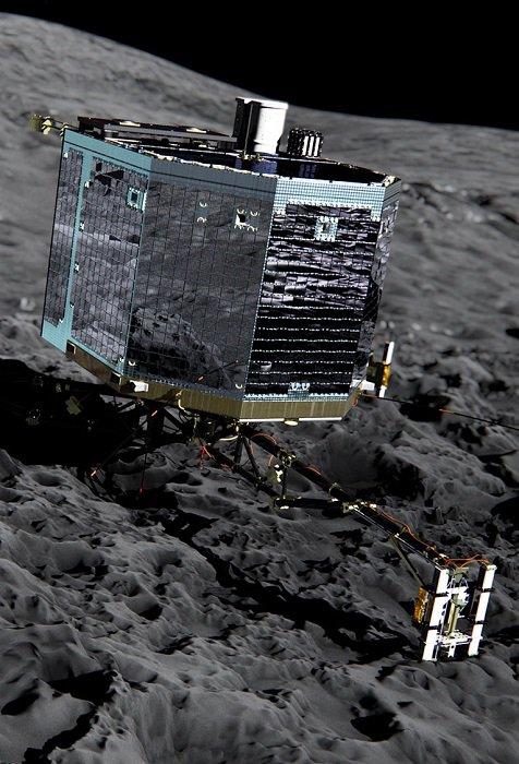 ROSETTA INFO DIRECT : VENDREDI 29 JUILLET 2016 : 11h30 L'INFO DU JOUR : Avant d'entamer sa descente finale vers la comète Tchury, ROSETTA vient de couper son antenne de communication avec le robot PHILAE. C'est la fin de tout espoir d'une reprise de contact. Cette fois, c'est bel et bien fini. Le robot PHILAE, posé sur la comète Churyumov-Gerasimenko depuis novembre 2014, n'enverra plus de nouvelles. Sa seule liaison avec la Terre passait avec la sonde Rosetta. Or, celle-ci se prépare à descendre à son tour vers la comète, le 30 septembre 2016, et vient de fermer son antenne relais. Officieusement, les équipes de l'ESA n'avaient déjà plus vraiment d'espoir de reprendre le contrôle du module depuis plusieurs mois. Le dernier contact avait eu lieu le 9 juillet… 2015 ! Au mieux, Rosetta a encore un maigre espoir de photographier Philae lors de son dernier survol rapproché. (Sources ESA-CNES-C&E)