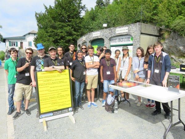 LA PHOTO DU JOUR : En attendant de vivre la NUIT DES ÉTOILES à Lourdes avec les jeunes de l'ASTRO CLUB LOURDAIS, ils vous attendent pour la deuxième semaine de l'astronomie au sommet du Pic du Jer de ce lundi au vendredi 5 août de 14h à 17h30 !! Rappel: la Nuit des étoiles ce samedi 6 août, au Pic du Jer, et funiculaire gratuit dès 20h.