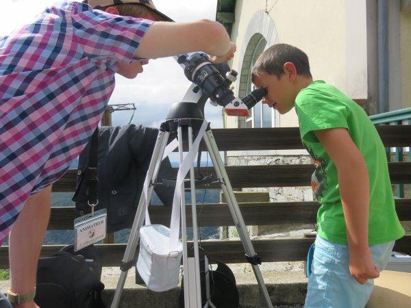 DERNIER JOUR DE LA SEMAINE DE L'ASTRONOMIE A LOURDES...  Dernier reportage photo de cette deuxième semaine de l'astro avec les jeunes membres de l'Astro Club Lourdais au sommet du Pic du Jer...