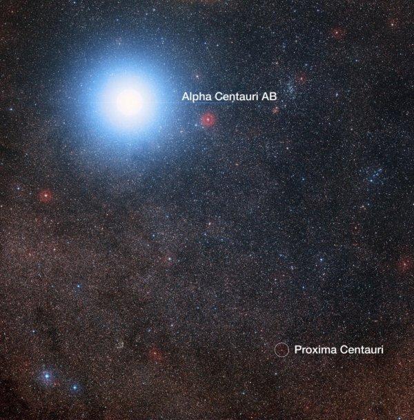 ASTRONOMIE INFO : DÉCOUVERTE D'UNE PLANÈTE AUTOUR DE L'ÉTOILE LA PLUS PROCHE DE LA TERRE !! A seulement 4,3 années-lumière du Système solaire, un autre monde potentiellement très ressemblant à la Terre gravite autour de Proxima du Centaure, dans la zone habitable de l'étoile. Parmi les quelque 3.000 exoplanètes connues, celle que vient de découvrir l'équipe de Guillem Anglada-Escudé à l'aide du télescope de 3,6 m de l'ESO, au Chili, va sans aucun doute prendre une place à part. Cette planète — la plus proche découverte en dehors du Système solaire — est peut-être celle qui ressemble le plus à la Terre. Et pour cause : elle se trouve en orbite autour de Proxima du Centaure, première voisine du Soleil, située à seulement 4,3 années-lumière. Appelée Proxima Centauri b, cette planète affiche une masse minimale de 1,27 fois la masse de la Terre. Avec une masse plus probable de 1,4 fois celle de la Terre, elle est très vraisemblablement une planète tellurique, c'est-à-dire faite de roches, comme la nôtre. Mais ce qui attire encore plus l'attention sur elle, c'est qu'elle boucle son orbite de 11,2 jours dans ce que les astronomes appellent la « zone habitable ». Elle gravite en effet à 7,5 millions de kilomètres de son étoile, qui ne fait que 12% de la masse du Soleil et en reçoit une énergie équivalant à 65% de l'énergie solaire reçue par la Terre. À ce régime, il n'y fait ni trop chaud, ni trop froid. De sorte que sa surface, pour peu qu'elle soit entourée d'une atmosphère, peut abriter de l'eau liquide. Or l'eau constitue un ingrédient que l'on juge indispensable au développement de la vie. (Sources NASA-ESA-C&E)