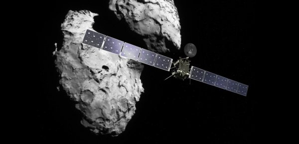 ROSETTA INFO DIRECT : VENDREDI 30 SEPTEMBRE 2016 : 13h30 FIN DE LA MISSION OFFICIELLE DE ROSETTA ! La sonde européenne Rosetta a achevé sa mission en apothéose en atterrissant à la surface de la comète Tchouri ce vendredi 30 septembre 2016 à 12h40, heure de Paris. Le signal de la sonde s'est éteint comme prévu à 13h19. (Sources ESA-CNES)