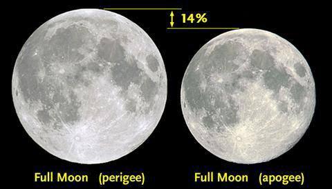 L'IMAGE DU JOUR : La plus grande Super-Lune du siècle sera visible, demain, lundi 14 novembre 2016. Rien d'exceptionnel cependant, juste une super proximité de la Lune avec sa Terre ! Concrètement, la lune se situera ce 14 novembre à 356 523 km de la terre au plus proche, contre en moyenne 405 504 km à son apogée. En tant que tel, les Super-Lunes ne sont pas si rares. On en recense près de 4 à 6 par an. Mais en raison de l'alignement soleil, terre et lune, certaines Super-Lunes sont plus impressionnantes que d'autres, ce qui sera le cas de celle du 14 novembre. La dernière fois qu'une telle configuration du ciel nous avait été offerte, c'était en 1948. Et, la prochaine fois, ce sera le 25 novembre 2034 ! Autant dire que ce lundi 14 novembre, mieux vaut jeter un ½il par sa fenêtre, si le temps le permet !!!