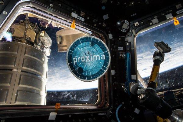 MISSION PROXIMA avec Thomas PESQUET : 2 Juin 2017. LES DERNIÈRES IMAGES DE THOMAS PESQUET DEPUIS L'ISS avec ces nouvelles photos : l'écusson de la mission PROXIMA, la terre vue de l'ISS et le chef-d'½uvre de technologie magnifique à regarder, la station Spatiale vue depuis le laboratoire japonais Kibo. (Sources ESA-TP)