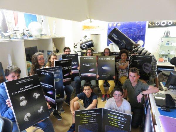 """""""LES COMÈTES"""" LA NOUVELLE EXPO, conception et réalisation des membres de l'ASTRO CLUB LOURDAIS ! EN AVANT PREMIÈRE LA PRÉSENTATION DES LIVRES DE L'EXPOSITION ! DATES A RETENIR : Cet expo sera présenté pour la première fois lors de la semaine de l'Astronomie au Château Fort de Lourdes du 24 au 29 juillet 2017, et de la NUIT DES ÉTOILES le samedi 28 juillet toujours au Château Fort !"""