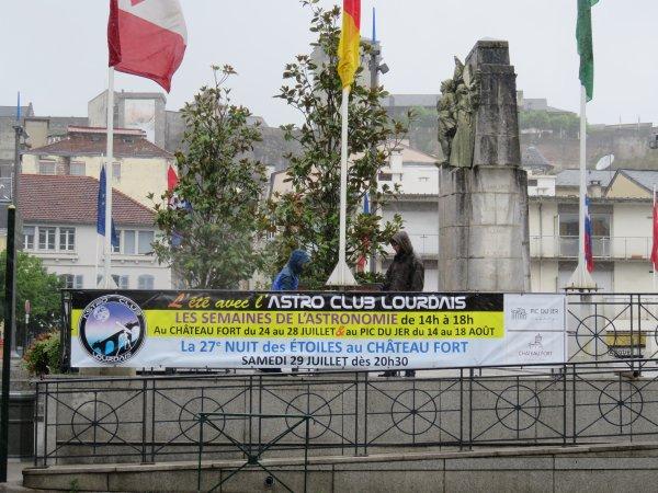 L'ETE avec l'ASTRO CLUB LOURDAIS