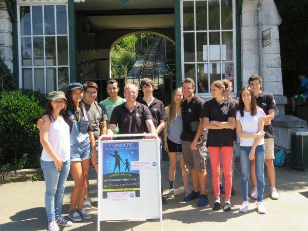 DEUXIÈME SEMAINE DE L'ASTRONOMIE c'est à LOURDES, au sommet du PIC du JER du 14 au 18 Août de 14h à 17h pour des observations du Soleil, et une animation ludique et pédagogique sur LES COMÈTES, avec les jeunes membres de l'ASTRO CLUB LOURDAIS.