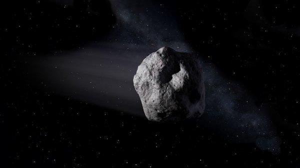 L'INFO DU JOUR : L'astéroïde 2012 TC4, un gros rocher cosmique, va croiser la Terre et la Lune, ce jeudi 12 octobre 2017 ! 2012 TC4 a été découvert à l'observatoire de Haleakala, dans l'île hawaïenne de Maui en 2012, juste avant qu'il ne croise la Terre à 94.000km de distance. Trop petit pour être observé à grande distance de la Terre, il a été perdu de vue, puis retrouvé il y a deux mois par l'équipe de Olivier Hainaut, utilisant le Very Large Telescope, au Chili. Il va passer à moins de 50.000km de la surface terrestre. Pas de panique, l'objet est tout petit, les astronomes estiment le diamètre de ce gros rocher entre 10 et 30 mètres. (Source NASA)