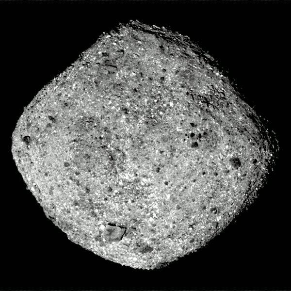 L'IMAGE ASTRO DU JOUR en direct de la sonde OSIRIS-REX à 80 km de distance de l'astéroïde BENNU. (Sources NASA-JPL-CNES)