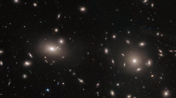 L'IMAGE & L'INFO ASTRO DU JOUR : GALAXIES AU SEIN DE GALAXIES ! Cette image du télescope spatial HUBBLE, révèle des milliers de grappes globulaires situées au c½ur d'une grappe de galaxies, un vaste rassemblement de plus de 1000 galaxies, distantes d'environ 320 millions d'années lumière, toutes liées par la gravité. Un groupe globulaire est un groupe d'étoiles sphériques qui gravitent autour d'une galaxie en tant que satellite autonome. Cependant, les groupes globulaires étudiés ici sont d'un type différent, les groupes globulaires intracluster. Spécifiquement, ce sont des groupes globulaires qui ne sont pas liés à une galaxie individuelle, mais à un groupe de galaxies, dans ce cas, Coma. Avec l'aide des groupes globulaires identifiés, les astronomes peuvent cartographier la distribution de la matière et - plus important encore - de la matière noire dans le groupe Coma. La grappe de Coma a été l'un des premiers endroits où des anomalies gravitationnelles observées ont révélé l'existence de matière noire. (Sources NASA-HUBBLE-ESA)