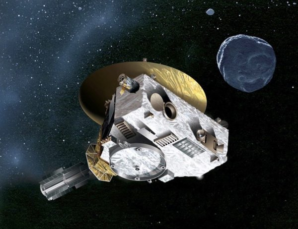 L'IMAGE & L'INFO ASTRO DU JOUR : NEW HORIZONS DÉVOILE LA PREMIÈRE IMAGE RÉSOLUE D'ULTIMA THULE ! La sonde NEW HORIZONS n'était plus qu'à 27.000 km de l'objet transneptunien Ultima Thule (de son vrai nom 2014 MU69) quand elle en a pris cette photo le 1er janvier 2019, à environ 1h avant le passage au plus près à 3.500 km. Et une nouvelle fois dans l'exploration du Système solaire, les astronomes ont droit à une petite surprise : l'astéroïde rougeâtre est constitué de deux lobes sphériques qui semblent collés l'un à l'autre. Cette image, qui deviendra peut-être historique, est l'une des premières d'Ultima Thule à être relativement résolue. Elle dévoile un astéroïde constitué de deux corps sphériques, comme le pressentaient les chercheurs. Les récentes observations confirment la période de rotation de 15 h, avec une précision de 1h. (Sources NASA-JPL)