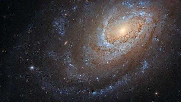 CONFINEMENT, RÊVONS D'ESPACE : Attention galaxie spirale carnivore étincelante ! Cette remarquable galaxie spirale, observée par le télescope spatial HUBBLE, connue sous le nom de NGC 4651, peut sembler sereine et paisible alors qu'elle tourbillonne dans le vaste vide silencieux de l'espace, mais ne vous laissez pas berner, elle garde un secret violent ! On pense que cette galaxie a consommé une autre plus petite galaxie pour devenir la grande et belle spirale que nous observons aujourd'hui ! (Sources NASA-HUBBLE-ESA). Restez bien chez vous, et prenez soin de vous et de vos proches.