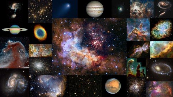 CONFINEMENT, RÊVONS D'ESPACE : Grand événement pour la Nasa et l'ESA, ce 24 avril : le télescope spatial HUBBLE fête ses 30 ans dans l'espace. Trois longues décennies que le fleuron des satellites de la recherche scientifique scrute l'Univers dans ses plus petits détails depuis la banlieue de la Terre, à 400 kilomètres au-dessus de nos têtes. Que de chemin parcouru depuis 1990 et que de trésors cosmiques amassés ! Trente ans après son lancement, grâce à lui, nombre de nébuleuses, d'amas d'étoiles, de galaxies et plus encore d'amas de galaxies jusqu'à la jeunesse de l'Univers, au-delà d'une frontière autrefois infranchissable pour les télescopes terrestres à plus de 12 milliards d'années-lumière, ont livré une partie de leurs secrets. Bon anniversaire à HUBBLE ! (Sources NASA-HUBBLE-ESA). Restez bien chez vous, et prenez soin de vous et de vos proches.
