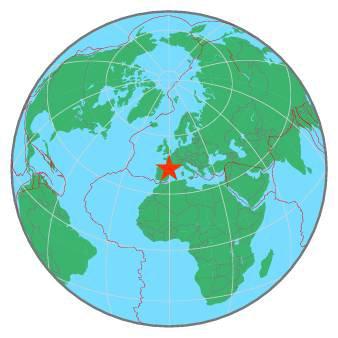 ALERTE TREMBLEMENT DE TERRE DANS LES PYRÉNÉES : Ce Dimanche 24 Mai 2020 à 18h49, un séisme de magnitude 3,0 sur l'échelle de Richter. Ce séisme a été situé à 10km au Sud-Ouest de St Pé-de-Bigorre, à 43.30 N ; 0.31 W et d'une profondeur de 8 km. (Sources CSEM-EMSC-BCSF-CEA-LDG-ACL)