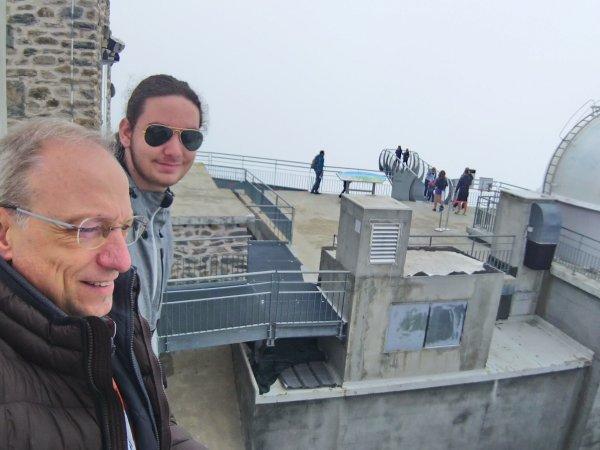 DE RETOUR A L'OBSERVATOIRE DU PIC DU MIDI pour ma 34e mission sur CLIMSO, avec Malo Robin !!
