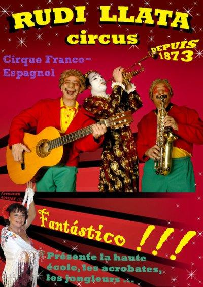 Affiche Rudi Llata Circus
