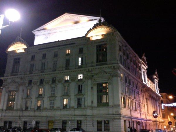 L'Opera vu de la Promenade des Anglais