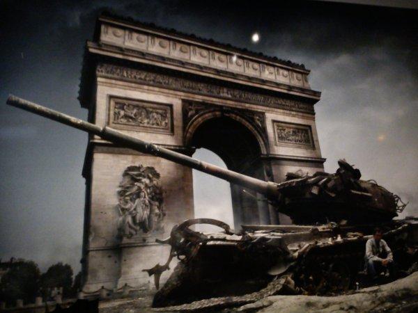 'Pour profiter de la paix il faut etre tres conscient de la guerre.' Patrick Chauvel
