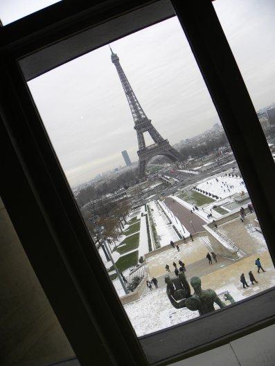 """A Paris, il fait """"frette"""" (clein d'oeil à nos amis canadiens)"""