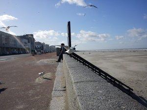 Un dimanche au bord de la mer
