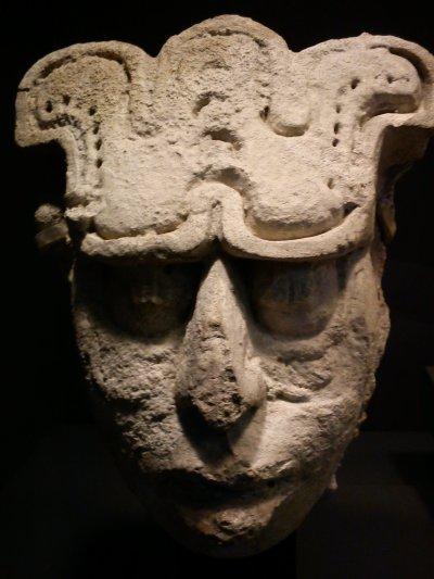 Les masques de jade mayas à la Pinacothèque de Paris