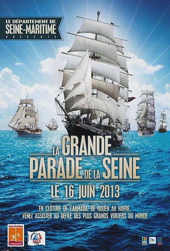 La grande parade de la Seine