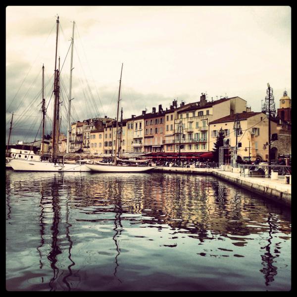 Le port de Saint-Tropez en hiver