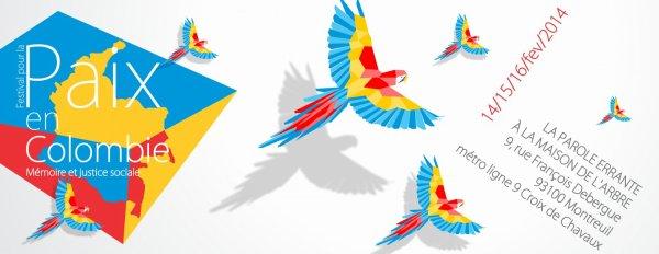 Festival pour la paix en Colombie - du 14 au 16 février