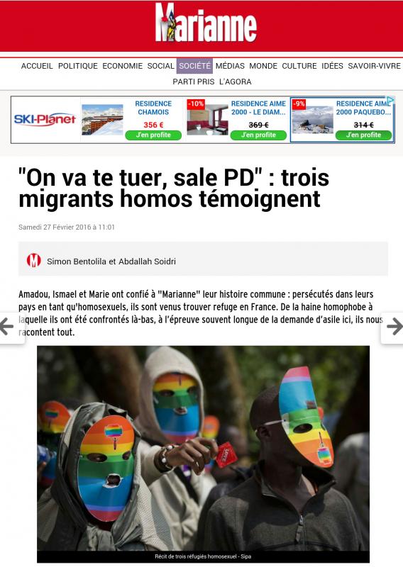"""""""On va te tuer, sale PD"""": le témoignage de Louis à Marianne"""