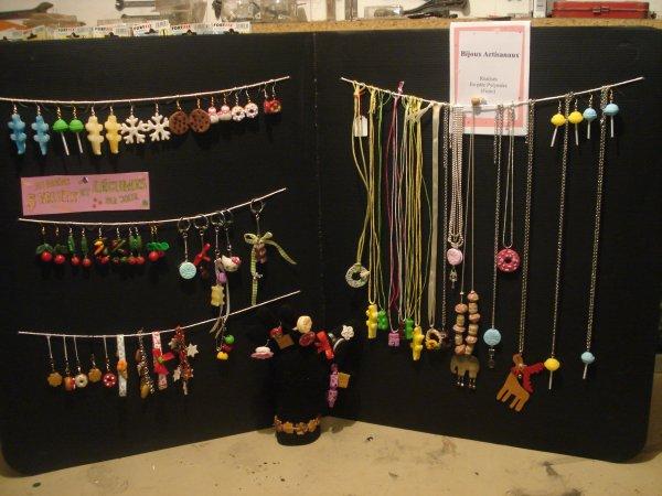 Un aperçu de ce que je vais présenter à l'expo artisanale d'Autrèche