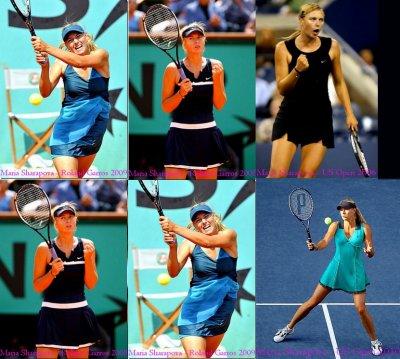 POLICE DU STYLE ; Tenues sportives de Maria Sharapova.