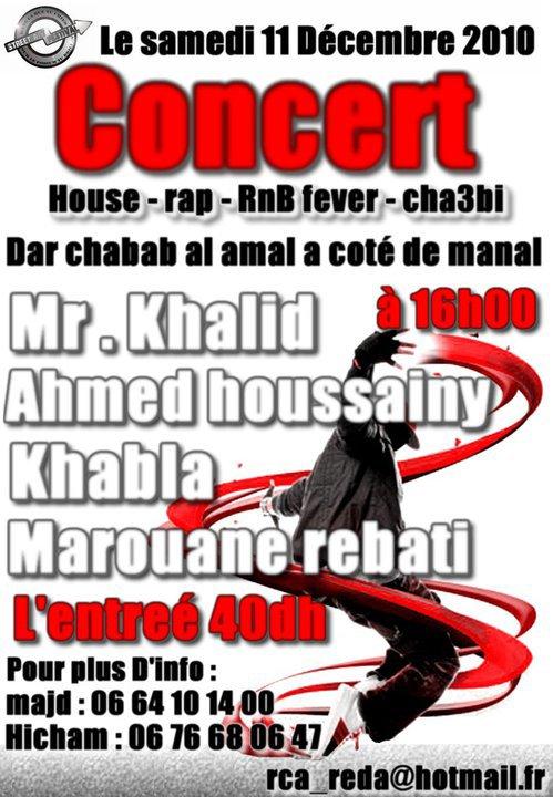 Mr Khalid en concert LIVE