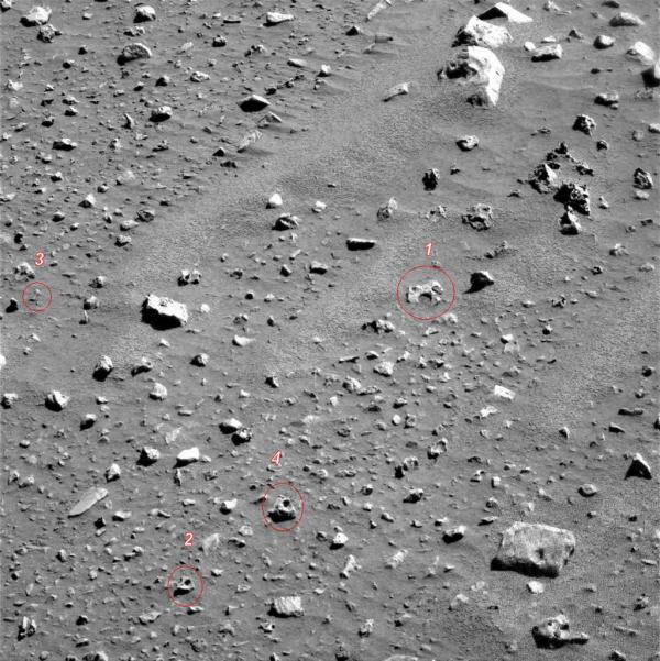 VISAGE DE MARS