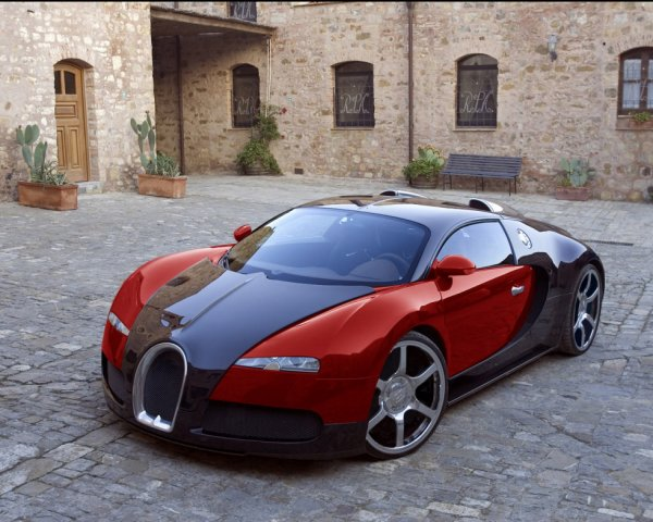 Bugatti o carro mais rápido do mundo
