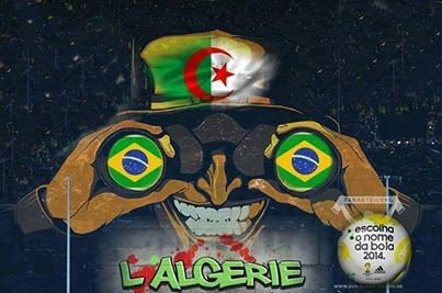 Algeria at the World Cup in Brazil 2014