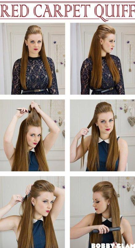 Tuto coiffure.