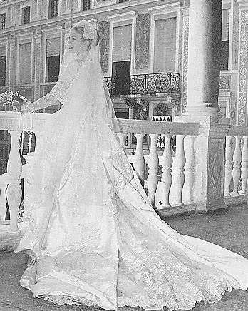 "Wedding Dress - Grace Patricia Kelly _   Princess of Monaco  ""  Suite """