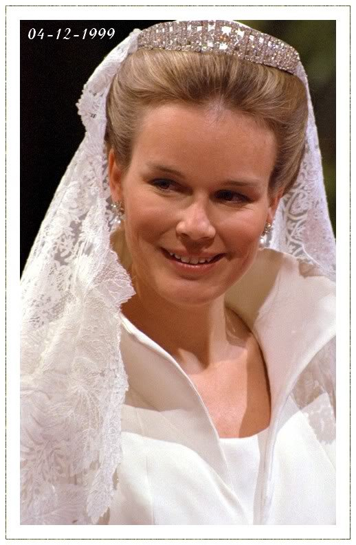 The Wedding Dress - Countess Mathilde d'Udeken d'Acoz _ Crown Princess of Belgium