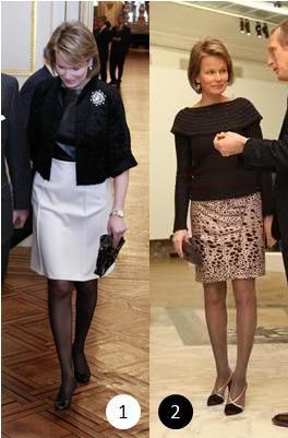 The Style Dress - Princess Mathilde of Belgium  _ SUITE