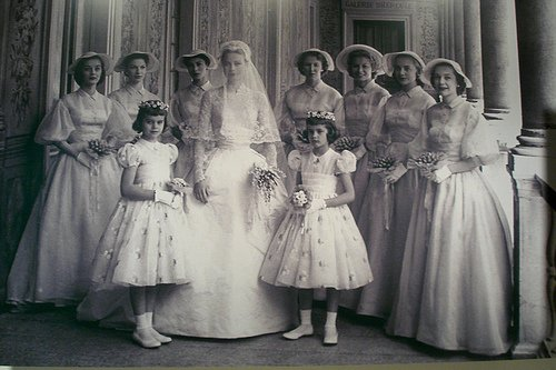 "Wedding Dress "" Civil "" - Grace Patricia Kelly _   Princess of Monaco"