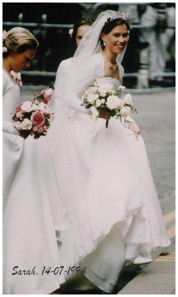 The Wedding Dress - Lady Sarah  Armstrong Jones