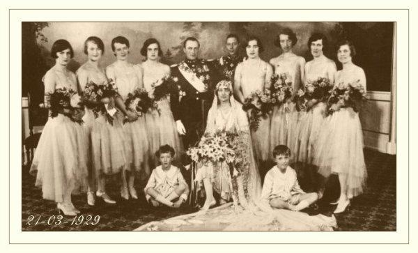 History  Wedding Dress - Princess Martha of Sweden _ Queen of Norway