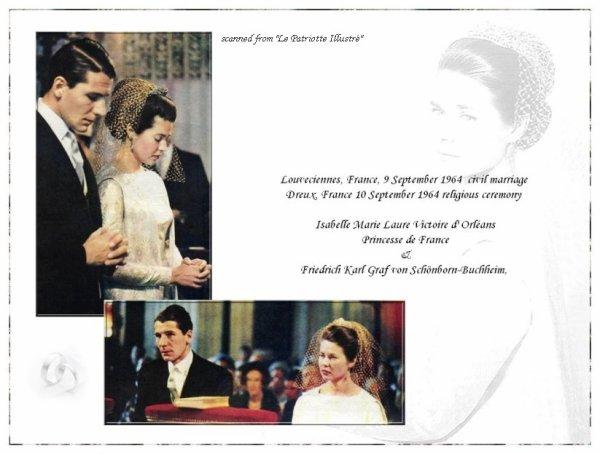 The Wedding Dress - Isabelle Princess of Paris _ Grafin Von Schonborn- Buchheim