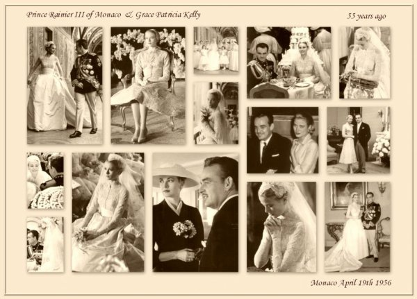 "Wedding Dress -  Grace Patricia Kelly _ Princess of Monaco "" Suite """