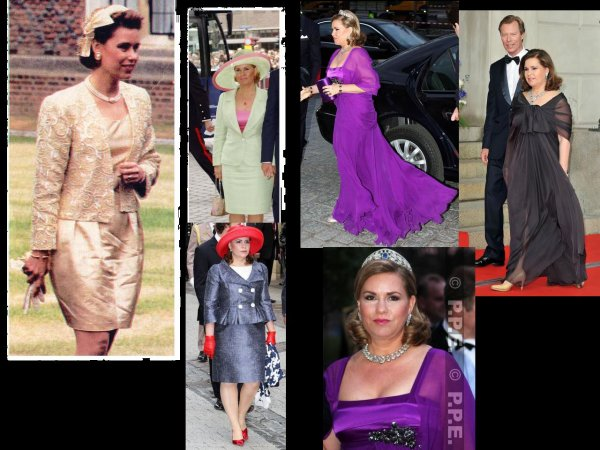 The Style Dress - Maria-Teresa Mestre y Batista  GRAND -DUCHESS OF LUXEMBOURG _Suite