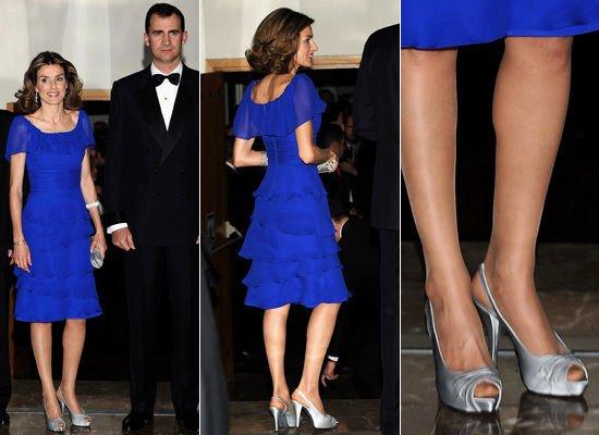 The Style dress - Crown Princess Letizia of Asturias _ Suite