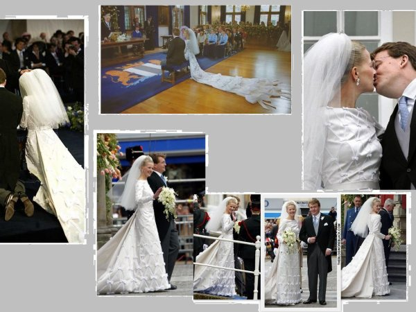 The Wedding Dress - Mabel Martine Wisse Smit _ Princess of Orange-Nassau